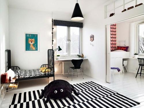 Drawing From The Crib In Black And White Decorating Ideas For Swedish Home  Decor