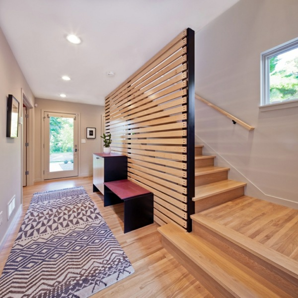 Stairs Minimalist And Geometric Patterns A Chic Little House With Elegant Modern  Interiors And Outlook