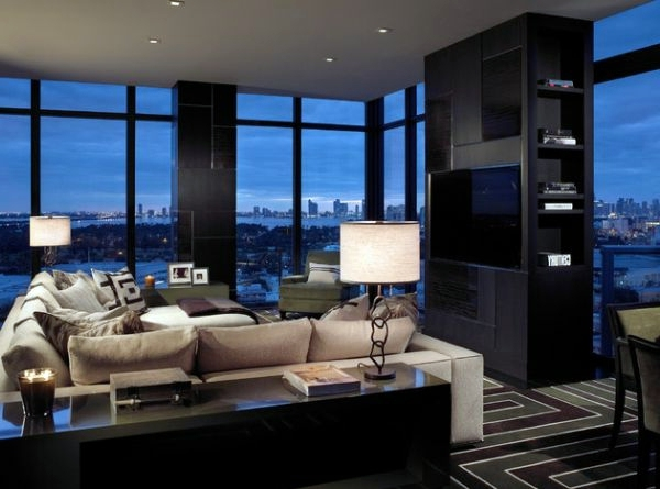 ... Luxury Living Room Set   70 Modern Interior Design Ideas