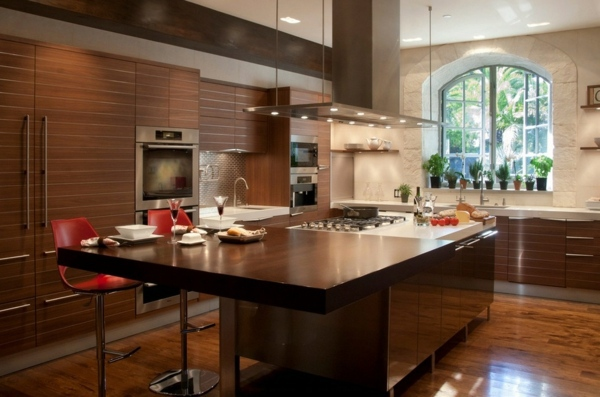 The old kitchen remodel give your kitchen a great new - Cocinas modernas de madera ...