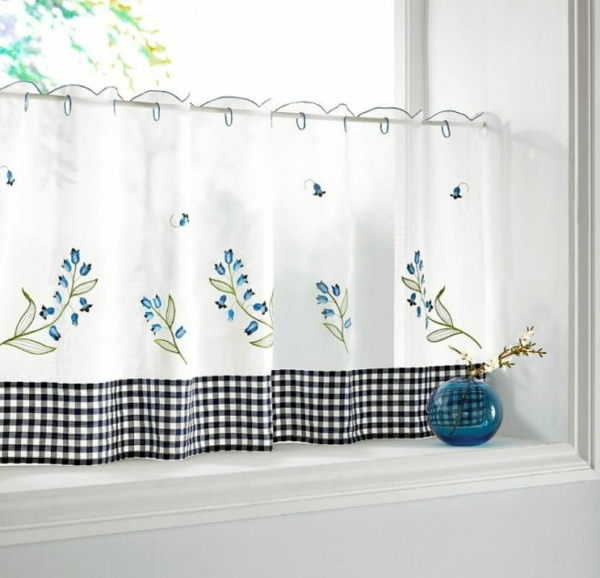 Very Delicate And Romantic The Right Kitchen Curtains