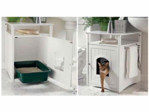 feng shui advice – find the best place for the litter box