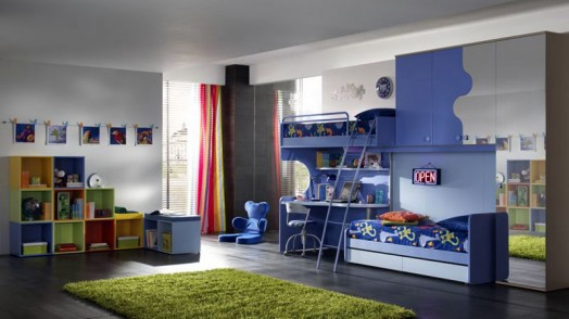 Ergonomic designs for nursery attached two children for Master bedroom with attached nursery