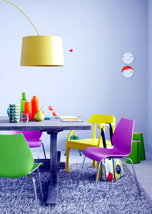 10 decoration ideas furniture made of natural wood in bright colors bright coloured furniture