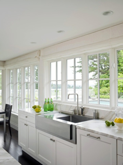 Unique Design Ideas for Kitchen with many windows | Interior Design ...