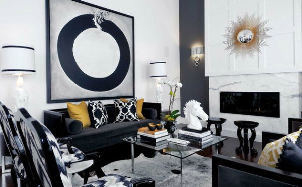 Set Fresh Accents Sofas And Cushions In Cool Modern Style