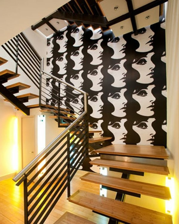 Interior Home Decoration Indoor Stairs Design Pictures: 101 Modern Stairs Appear As An Eye-catcher In Your Home