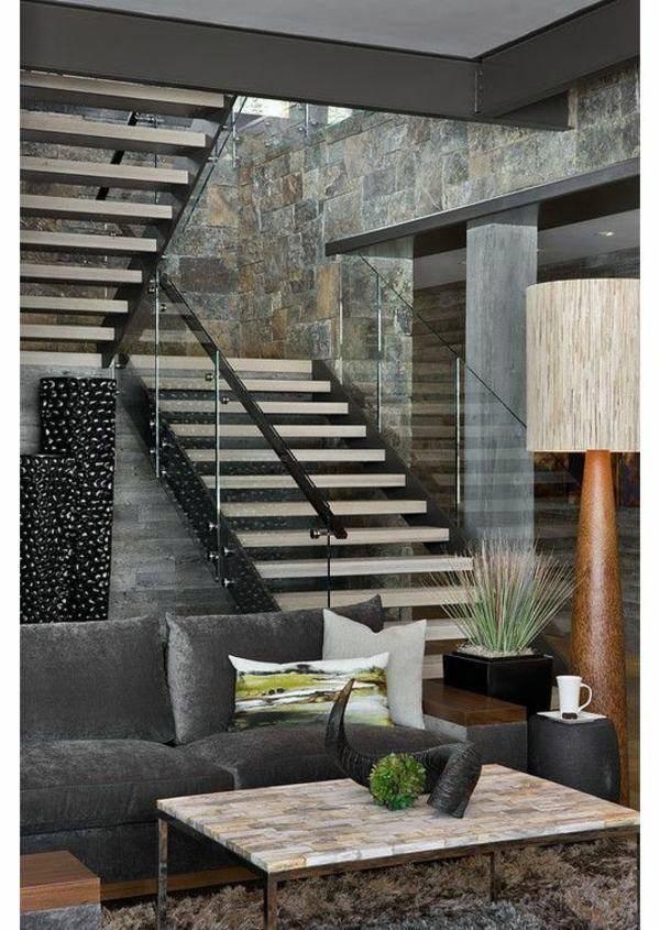 101 modern stairs appear as an eye catcher in your home Inside staircase in houses