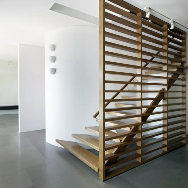 101 modern stairs appear as an eyecatcher in your home Interior