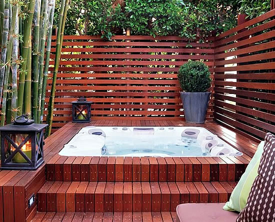 Portable Hot Tub For Outdoor Fun In The Garden Or Swimming