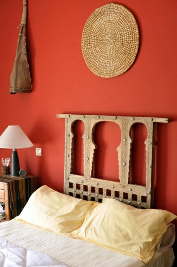 Paint walls paint ideas for orange wall design for Bedroom painting ideas india