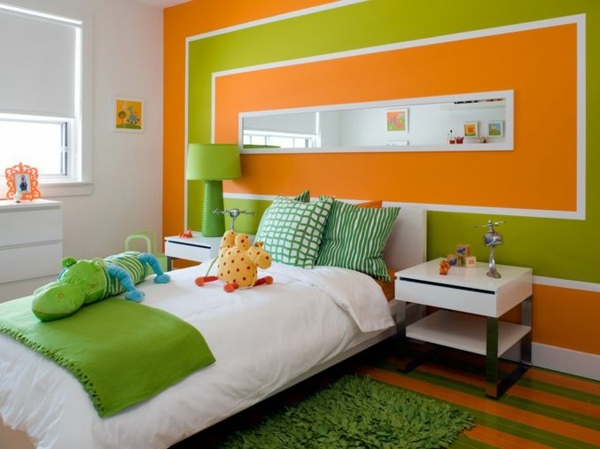 Bedroom Paint Ideas Orange paint walls – paint ideas for orange wall design | interior design