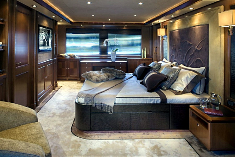 The exclusive luxury yachts of the interior interior for Exclusive interior designs