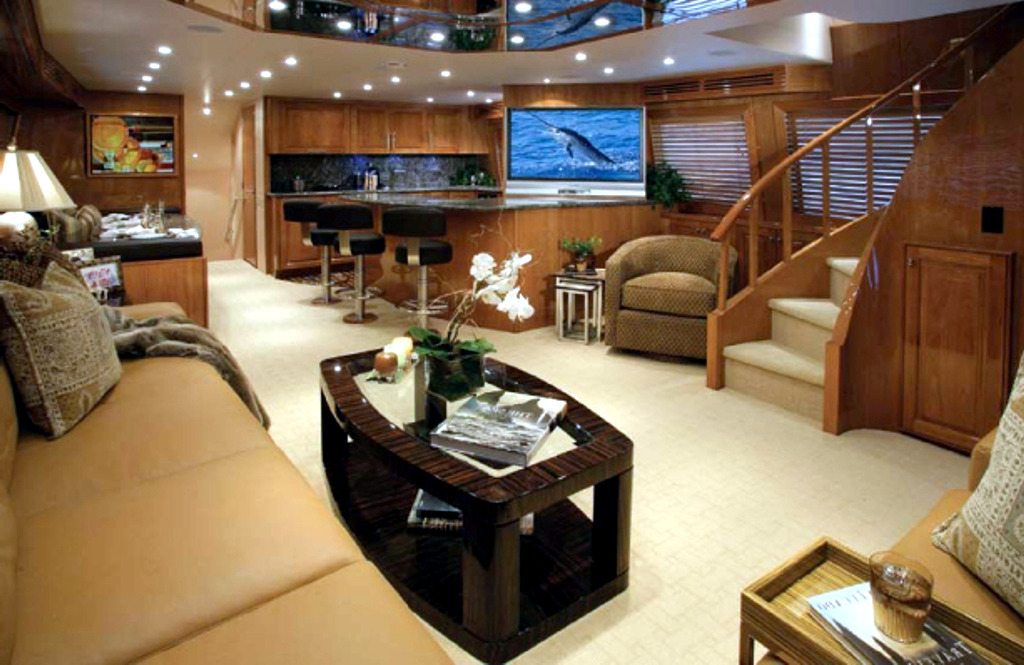 The exclusive luxury yachts of the Interior | Interior Design ...