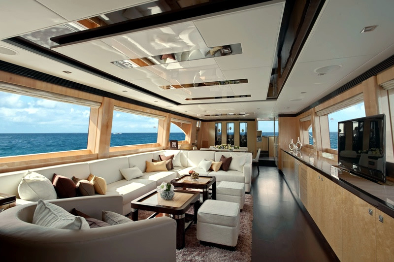 The Exclusive Luxury Yachts Of Interior