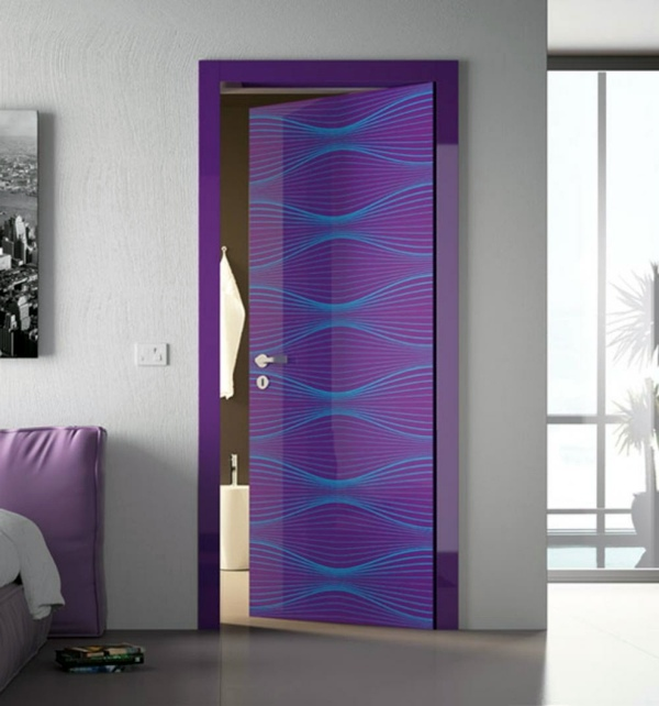 Bright Purple Buy Cheap Internal Doors   30 Remarkable Rooms Doors For  Every Home Part 60