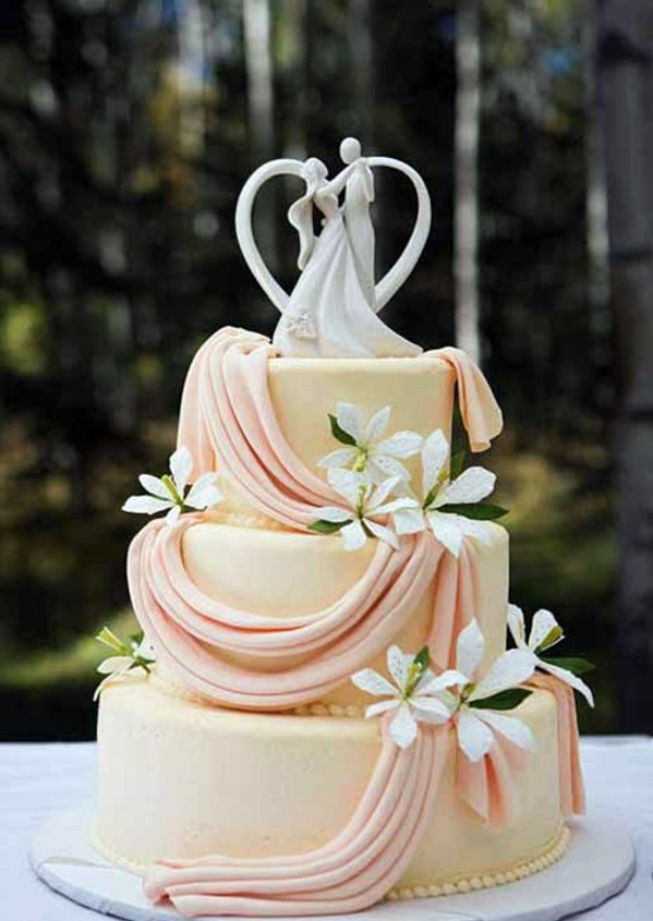 Tiered Wedding Cakes The Symbol Of Every Wedding Ceremony