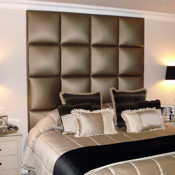 Useful tips for the stylish appearance of the bed for Different headboards
