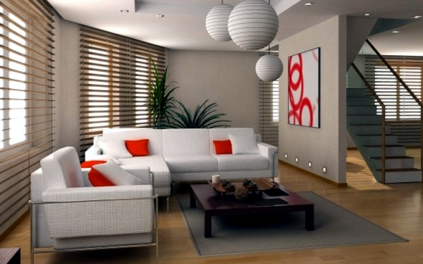 Neutral Colors And Delicious Orange Accents Choose The Appropriate Color  For The Living Room Wallpaper Part 25