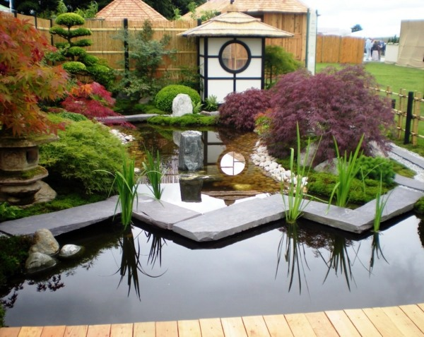 landscaping with rocks and water small japanese garden - Small Japanese Garden