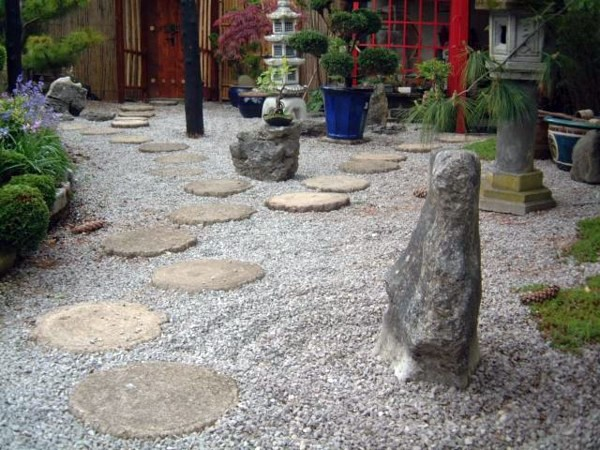 Landscaping with rocks and water small japanese garden for Japanese rock garden designs