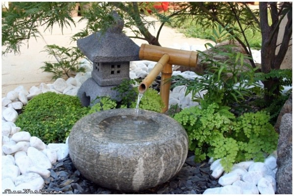 ... Landscaping With Rocks And Water   Small Japanese Garden Part 80