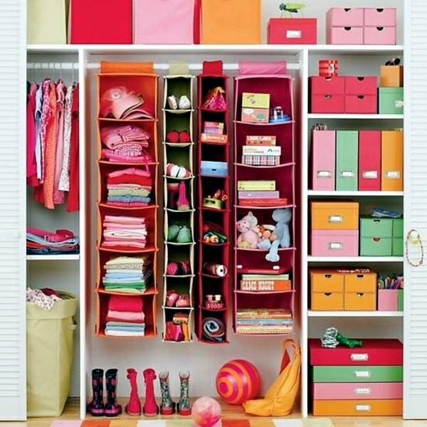 einrichtungsideen storage nursery practical design ideas
