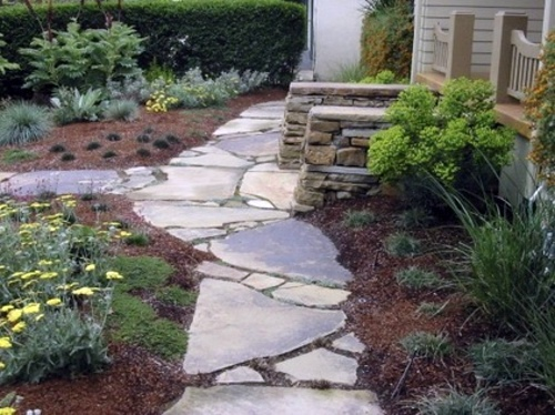 Stone slabs in the garden useful advice for the design in the stone slabs in the garden useful advice for the design in the landscape style workwithnaturefo