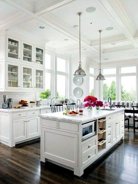 Kitchen - Trend kitchen: white flour .