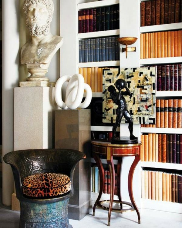 30 Classic Home Library Design Ideas Imposing Style: 30 Cool, Eclectic Interior Design Ideas