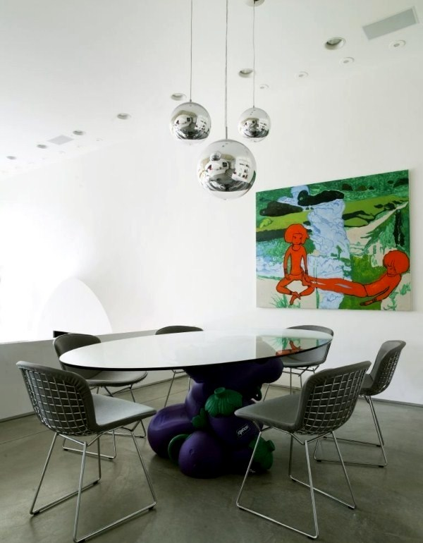 ... A Modern House In Los Angeles With Creative Furniture Design ...