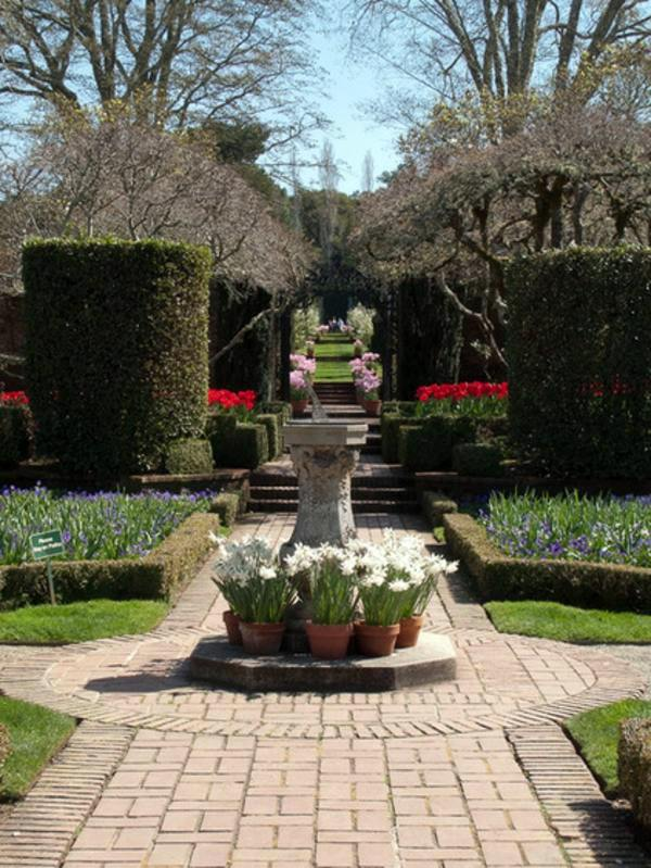 landscaping ideas with spring flowers the beauty of tulips - Spring Planting Ideas
