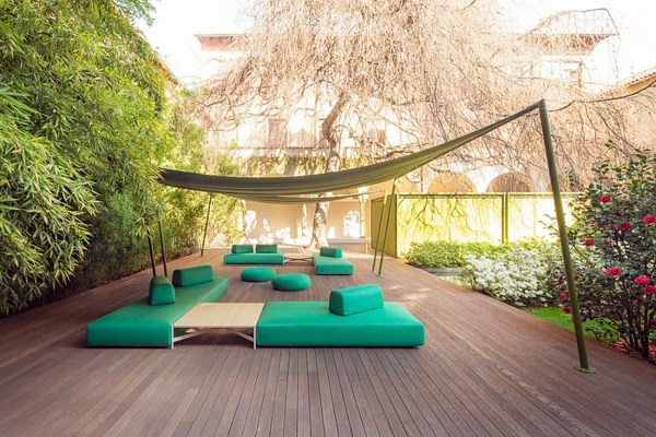 lounge garden furniture set by paola lenti interior. Black Bedroom Furniture Sets. Home Design Ideas
