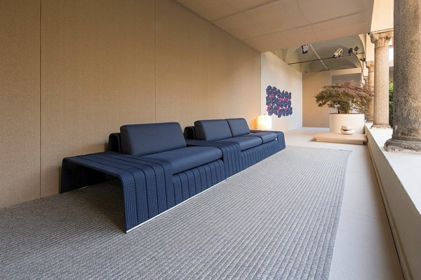 Large Sofa On The Porch Lounge Garden Furniture Set By Paola Lenti