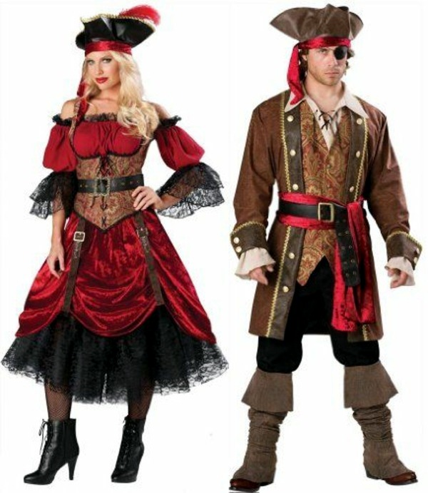 Great Pirate Couple Trends - 100 unique homemade costumes - great DIY clothes  sc 1 st  AVSO.ORG & 100 unique homemade costumes u2013 great DIY clothes | Interior Design ...