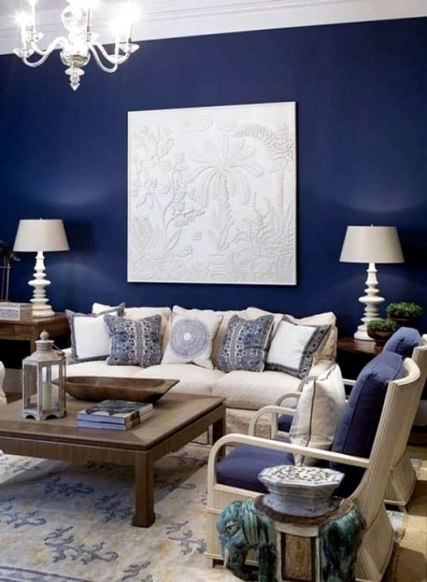 Room Color Design Ideas Part - 33: Wandgestaltung - Wall Colors For Living Room - 100 Trendy Interior Design  Ideas For Your Wall
