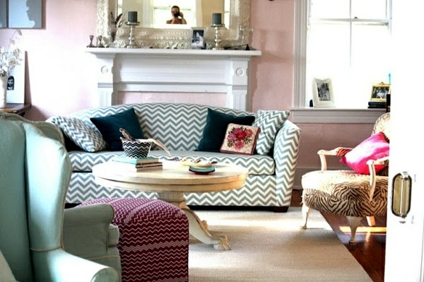 modern furniture living room color. Fine Furniture Modern Sofa With Patterns Chavron Wall Colors For Living Room  100 Trendy  Interior Design Ideas Your Wall Decoration Intended Furniture Living Room Color T