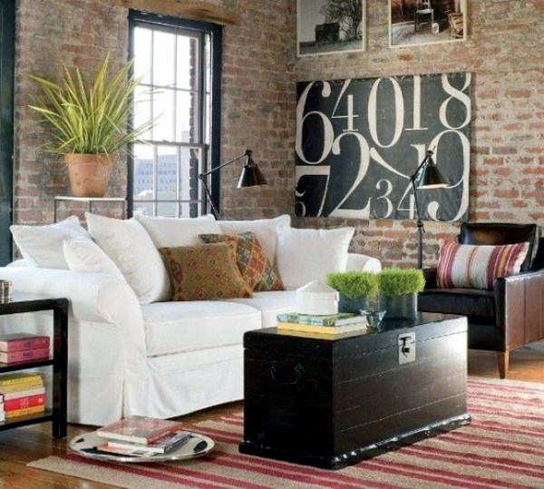 Urban Interior Wall Colors For Living Room   100 Trendy Interior Design Ideas  For Your Wall Decoration Part 71