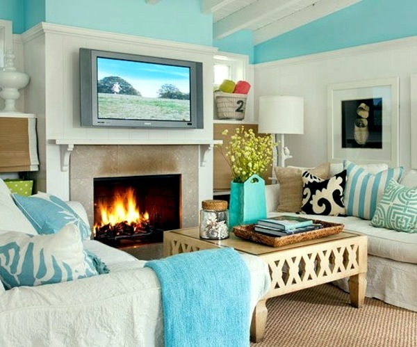 fresh from the sea wall colors for living room 100 trendy interior design ideas for your wall decoration - Designs For Living Room Walls