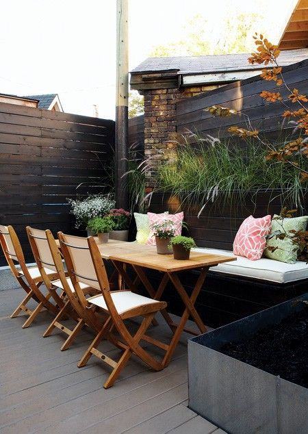 Terrace inspiration and trends interior design ideas for Inspiration condo patio ideas