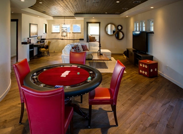 Dice table and room for a filled with House of Pleasure | Interior ...