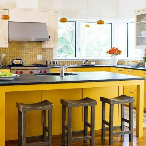 House Rules Yellow Kitchen: Bring The Sun Into Your Home