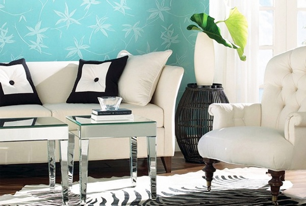 Farben   Turquoise Interior Design   Refined And Stylish