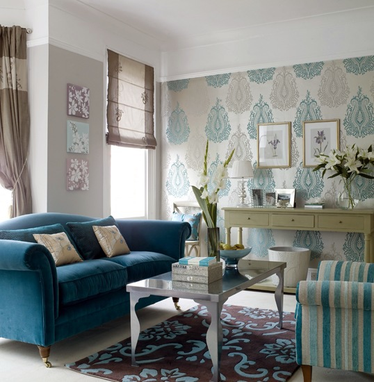 Turquoise Interior Design   Refined And Stylish