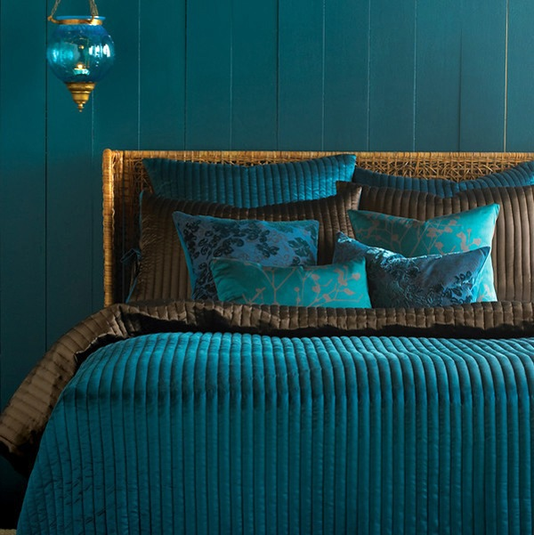 Eye For Design Grey Interiors Refined And Sophisticated: Turquoise Interior Design – Refined And Stylish
