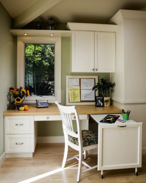 Home Ideas For Small Spaces: Space-saving Tips For Your Small Home Office