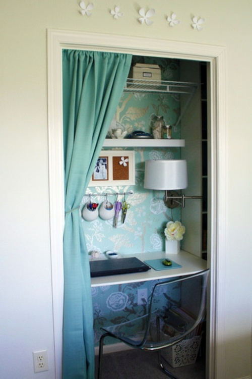 Space Saving Tips For Your Small Home Office Interior