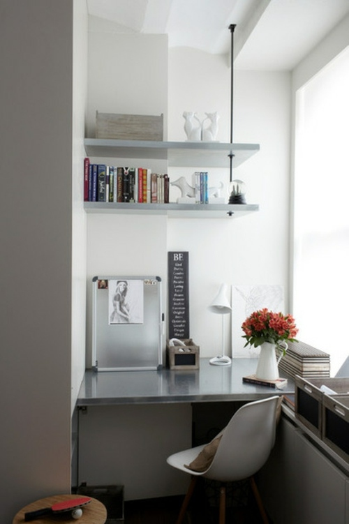 space saving tips for your small home office interior design ideas avso org. Black Bedroom Furniture Sets. Home Design Ideas