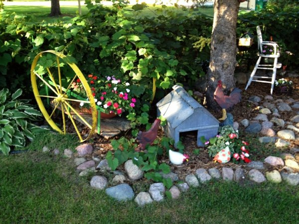 Garden Art Ideas find this pin and more on garden art ideas 30 Beautiful Flowers And Garden Art Ideas The Inspiring Power Of Nature