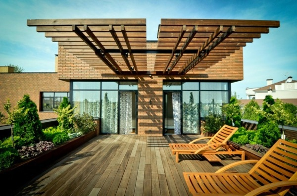 Terrific Covered Terrace 50 Ideas For Patio Roof Of Modern Houses Largest Home Design Picture Inspirations Pitcheantrous